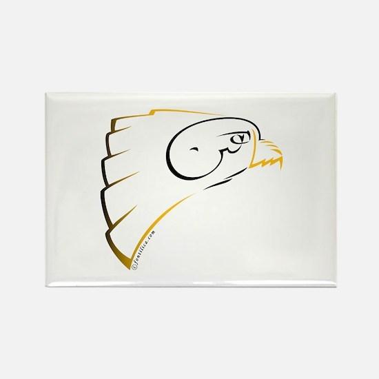 Shaheen Falcon (Persian) Rectangle Magnet