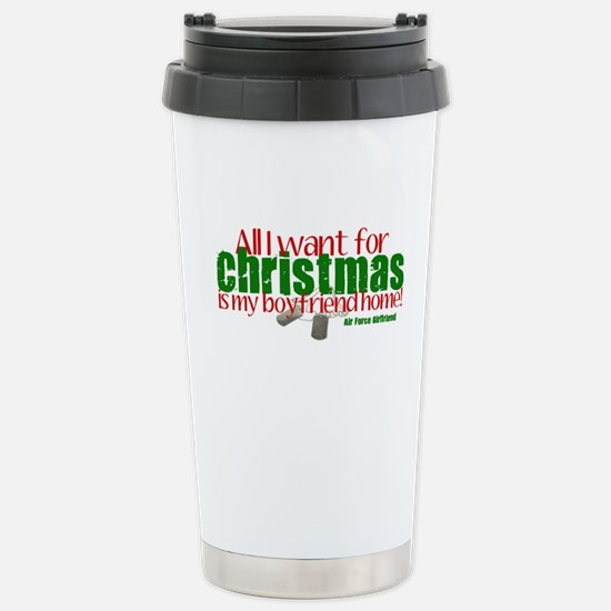 All I Want Air Force GF Stainless Steel Travel Mug