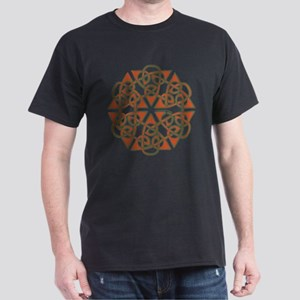 6 Triangles Knot Dark T-Shirt
