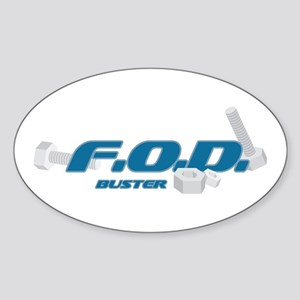 FOD Buster Oval Sticker