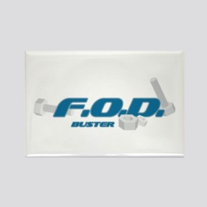 FOD Buster Rectangle Magnet