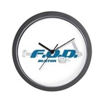 FOD Buster Wall Clock
