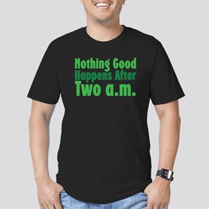Nothing Good Men's Fitted T-Shirt (dark)