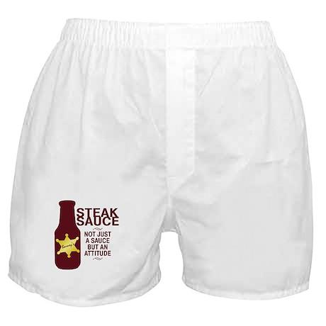 Steak Sauce Boxer Shorts