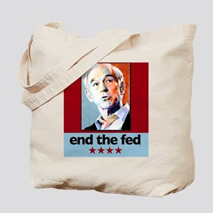 Ron Paul - End The Fed 2 Tote Bag