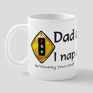 Dad of Triplets - Nap at Red Lights Mug