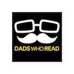 DadsWhoReadLogo1-BG Sticker