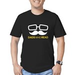 Dads Who Read Logo - white on transparent T-Shirt