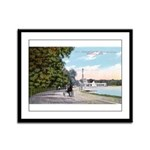 1911 Lake Harriet Boulevard Framed Panel Print