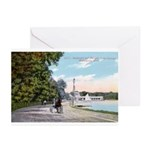 1911 Lake Harriet Boulevard Greeting Cards (Pk of