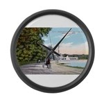 1911 Lake Harriet Boulevard Large Wall Clock