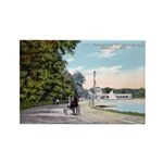 1911 Lake Harriet Boulevard Rectangle Magnet