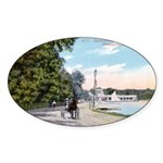 1911 Lake Harriet Boulevard Oval Sticker