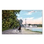 1911 Lake Harriet Boulevard Rectangle Sticker