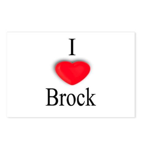 Brock Postcards (Package of 8)