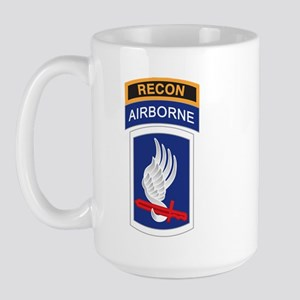 173rd ABN with Recon Tab Large Mug