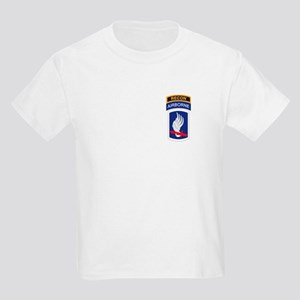 173rd ABN with Recon Tab Kids Light T-Shirt