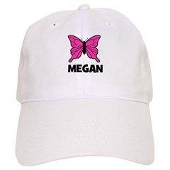 Butterfly - Megan Baseball Cap