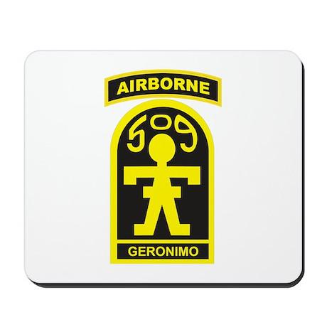 509th Airborne Gingerbread Ma Mousepad
