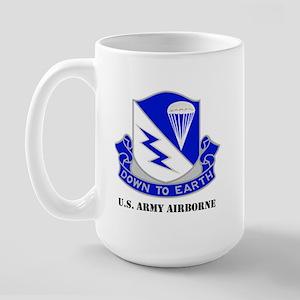 Army Airborne School Large Mug