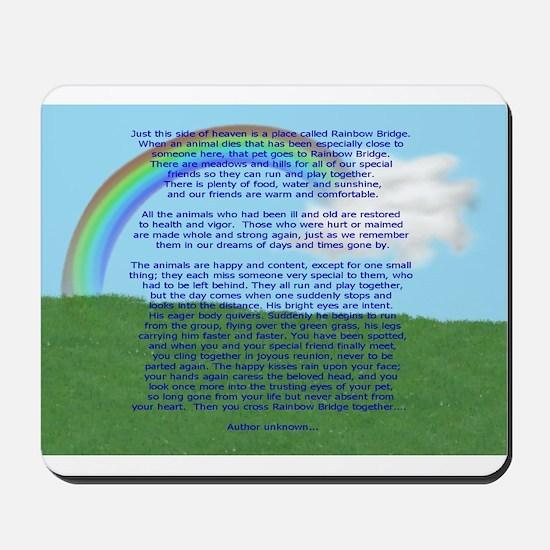 Rainbow Bridge Mousepad