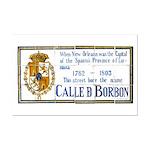 Bourbon St Mural Assembled Print