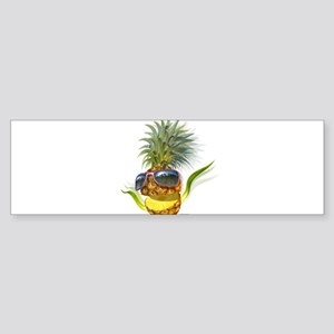 pineapple pineapples Bumper Sticker