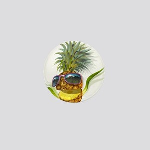 pineapple pineapples Mini Button