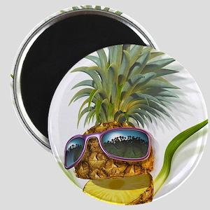 pineapple pineapples Magnet