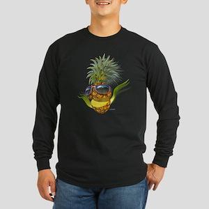 pineapple pineapples Long Sleeve Dark T-Shirt