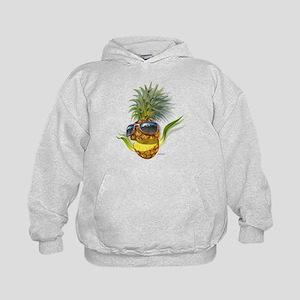 pineapple pineapples Kids Hoodie