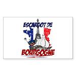 French Rectangle Sticker 50 pk)