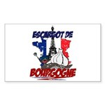 French Rectangle Sticker 10 pk)