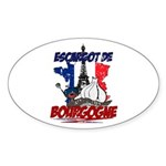French Oval Sticker (10 pk)