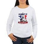 French Women's Long Sleeve T-Shirt