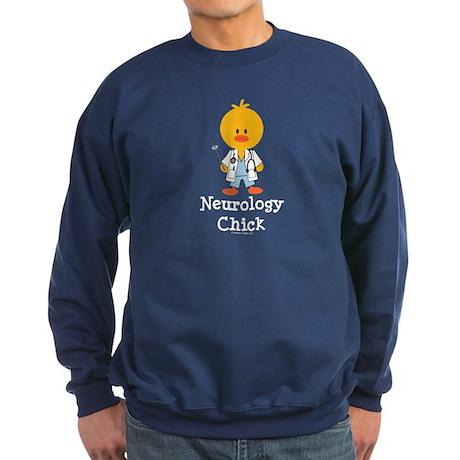 Neurology Chick Sweatshirt (dark)