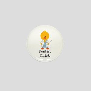 Dentist Chick Mini Button