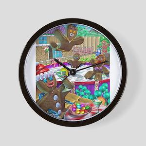 gingerbread cookies gingerbre Wall Clock