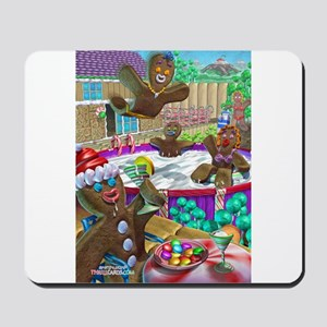 gingerbread cookies gingerbre Mousepad