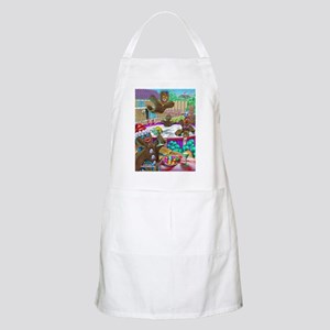 gingerbread cookies gingerbre BBQ Apron