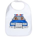 K-9 Police Baby Bib