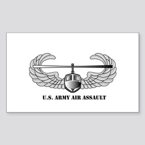 Air Assault Wings Rectangle Sticker