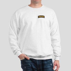 Airborne Tab Black and Gold Sweatshirt