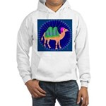 Camel Hooded Sweatshirt