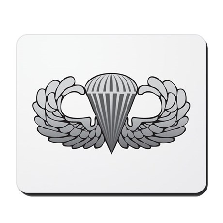 Basic Airborne Wings Mousepad