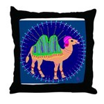 Camel Throw Pillow