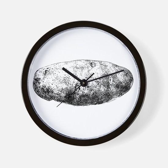 Potato Wall Clock