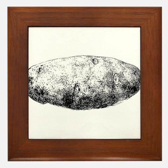 Potato Framed Tile