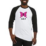 Butterfly - Lily Baseball Jersey