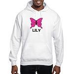Butterfly - Lily Hooded Sweatshirt